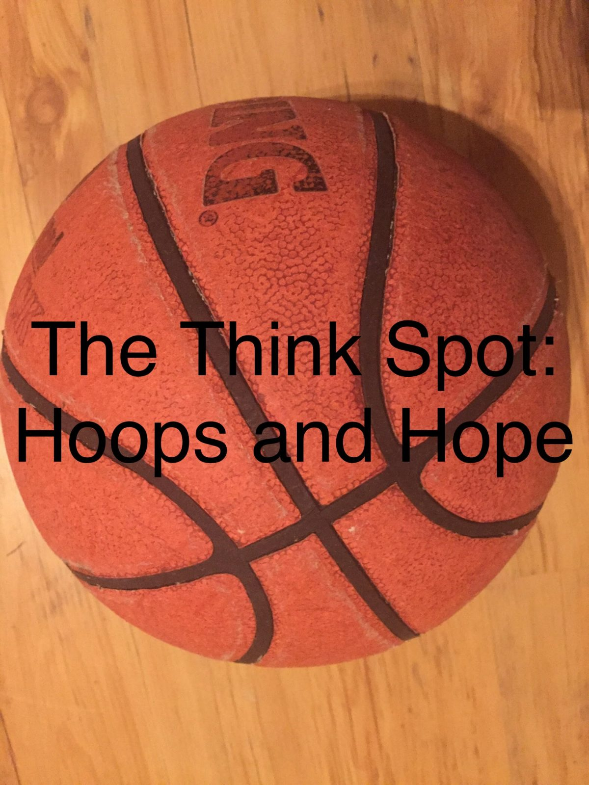 Photo of a basketball by Pastor Bo Wagner
