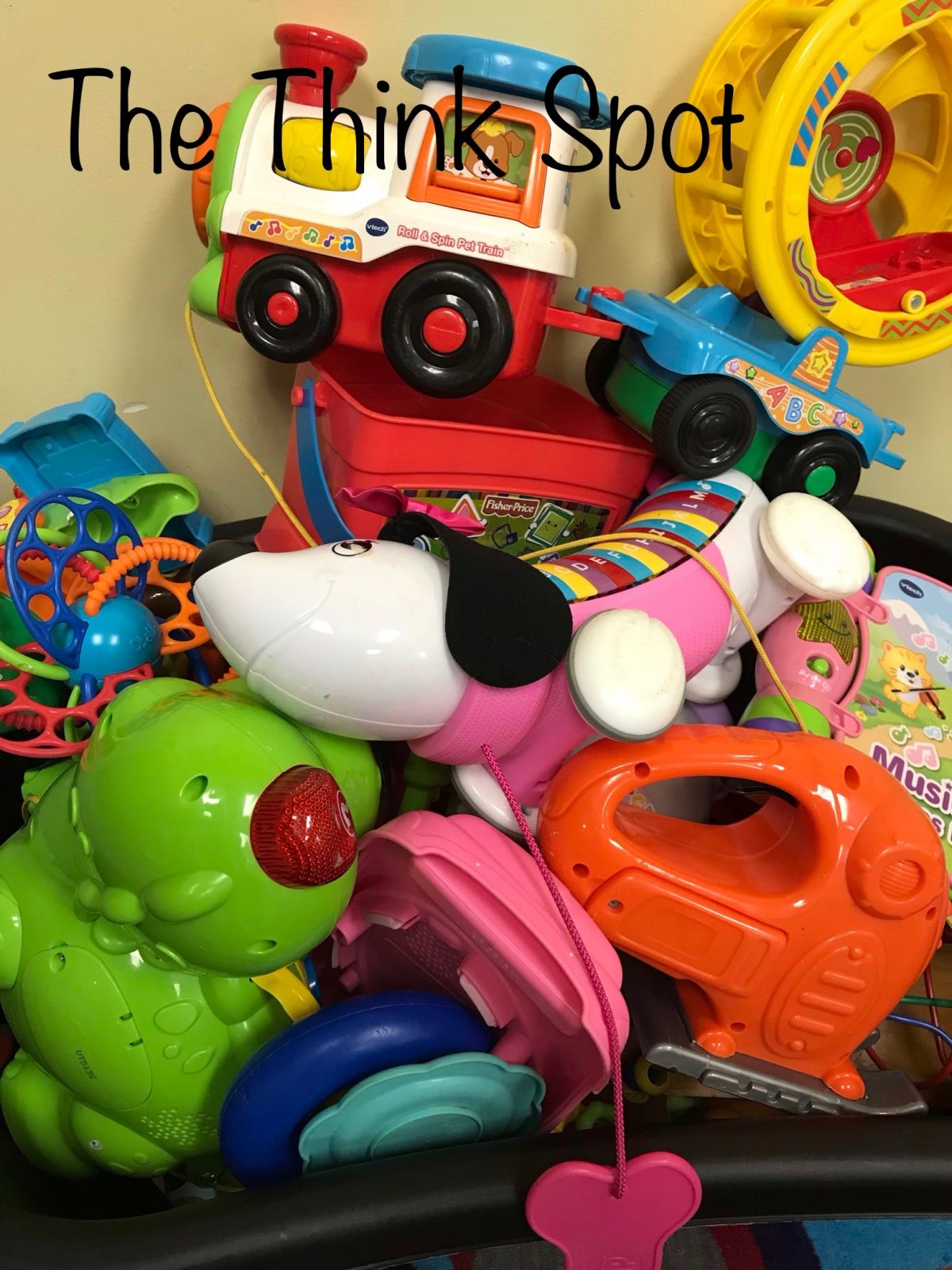 Photo of toys in the nursery by Pastor Bo Wagner