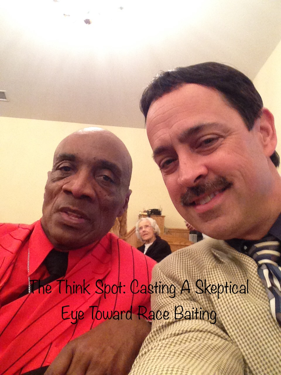 Pastor Bo Wagner an a dear black brother by another mother