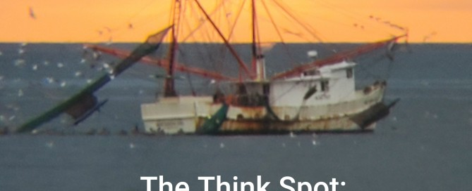 Photo of a shrimp trawler by Pastor Bo Wagner