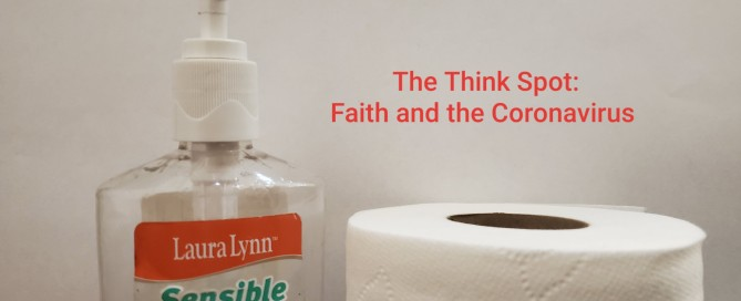 Photo of hand sanitizer and a roll of toilet paper, by Pastor Bo Wagner