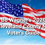 Bo Wagner's 2020 NC Voting Guide